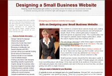 Designing a Small Business Website