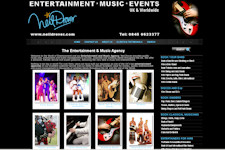 entertainment Agency Website