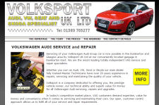 web design portfolio - Dumbarton Garage Servicing